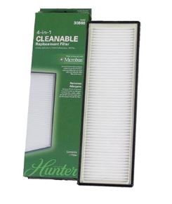 Picture of Hunter 30888 4-in-1 OEM Replacement Washable Filter