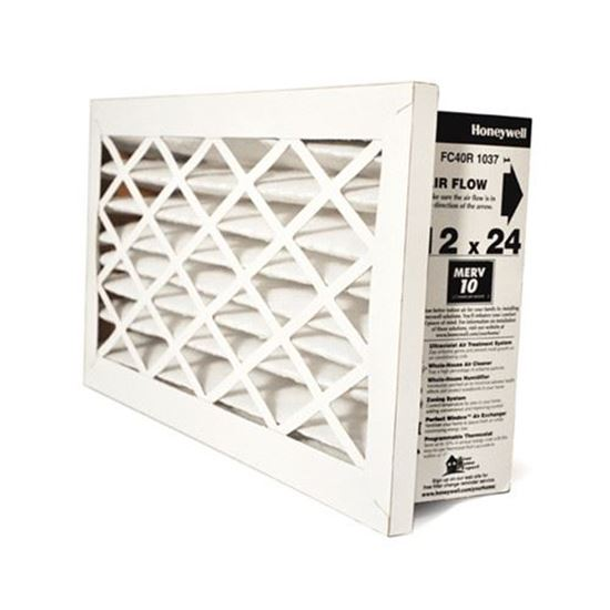 "Picture of Honeywell FC40R-1037 Return Grille Media Filter 12x24x3"" 2 Pack (MERV 10)"