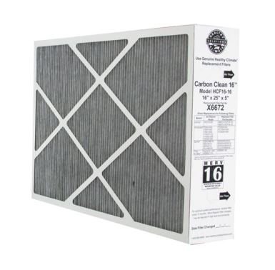 "Picture of Lennox X6672 OEM Replacement Media Filter 16x25x5"" (MERV16)"