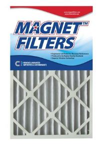 Picture of 25x25x1 (24.5 x 24.5) Magnet  1-Inch Filter (MERV 8) 4 filter pack - One Years Supply