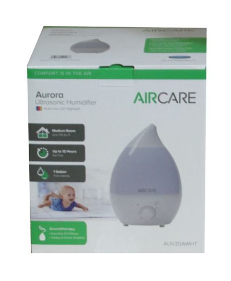 Picture of AIRCARE AUV20AWHT Aurora Portable Room Ultrasonic Humidifier